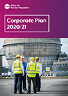 Corporate Plan 2020/21 front cover