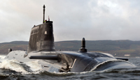 BAE Systems - HMS Astute leaves Barrow - credit BAE Systems