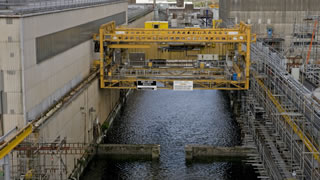 Sellafield - First Generation Magnox Storage Pond 2015 (Copyright Sellafield Ltd)